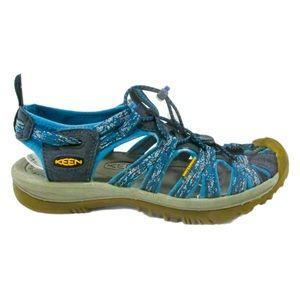 Keen Whisper Waterproof Outdoor Sandal Blue 8.5